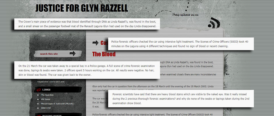 Justice for Glyn Razzell